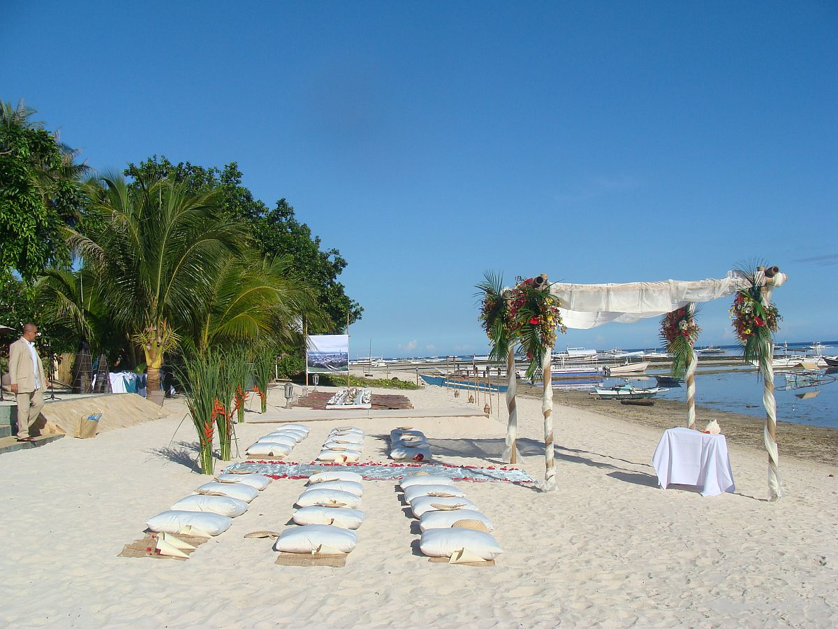 Linaw Beach Resort Panglao Island Bohol Weddings 005