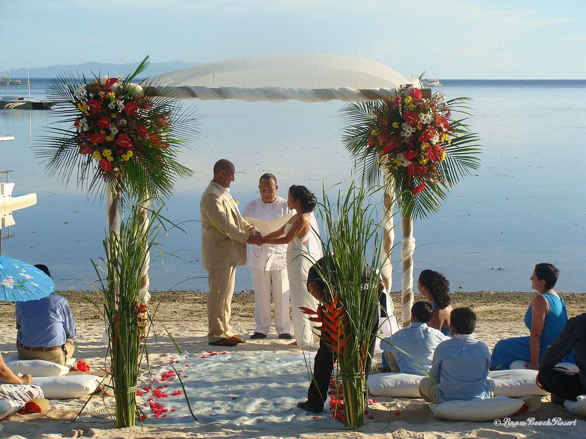 Linaw Beach Resort Panglao Island Bohol Weddings 006