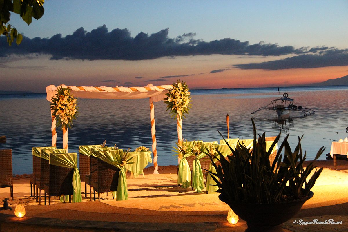 Linaw Beach Resort Panglao Island Bohol Weddings 016