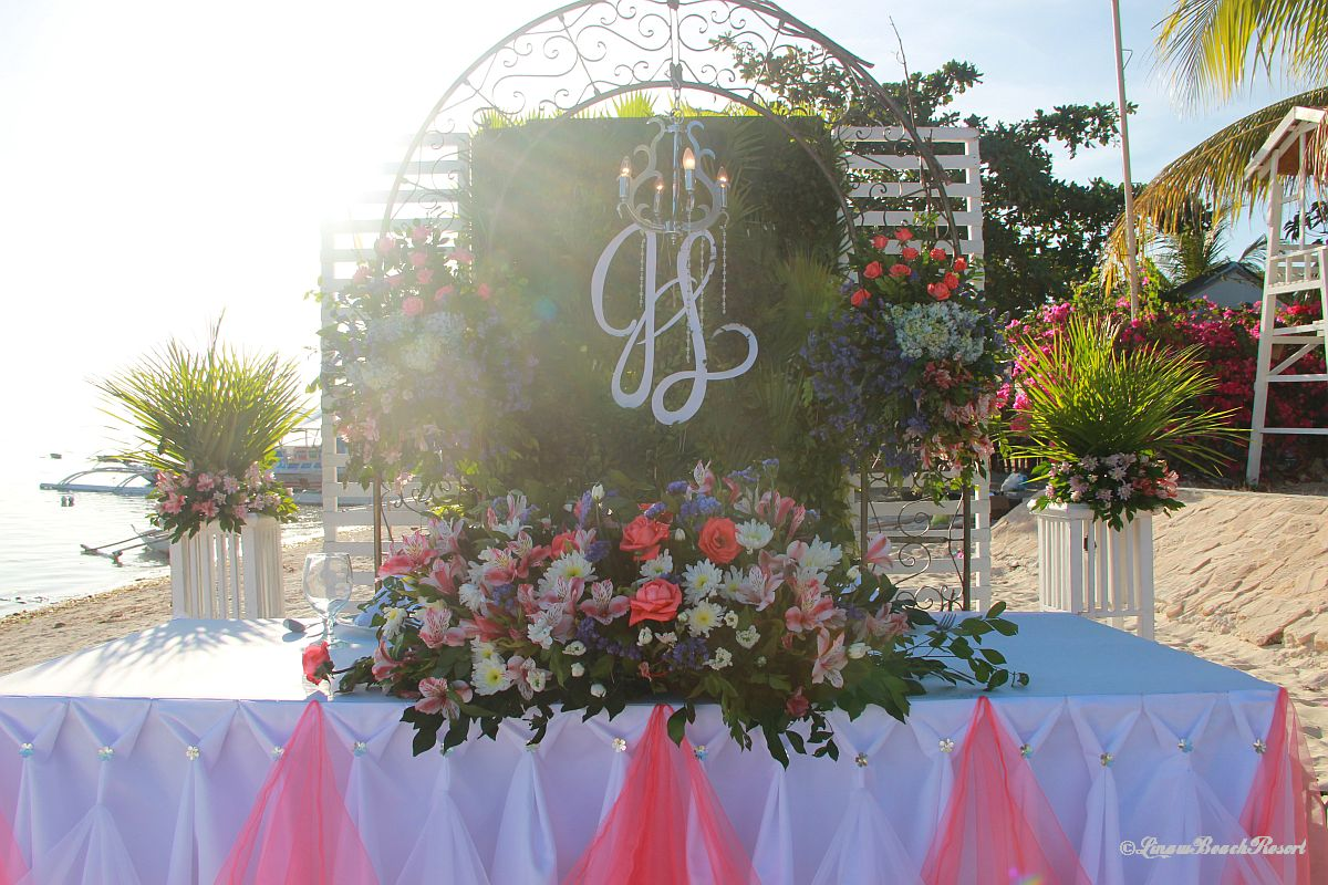 Linaw Beach Resort Panglao Island Bohol Weddings 053