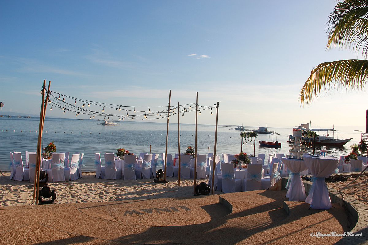 Linaw Beach Resort Panglao Island Bohol Weddings 055