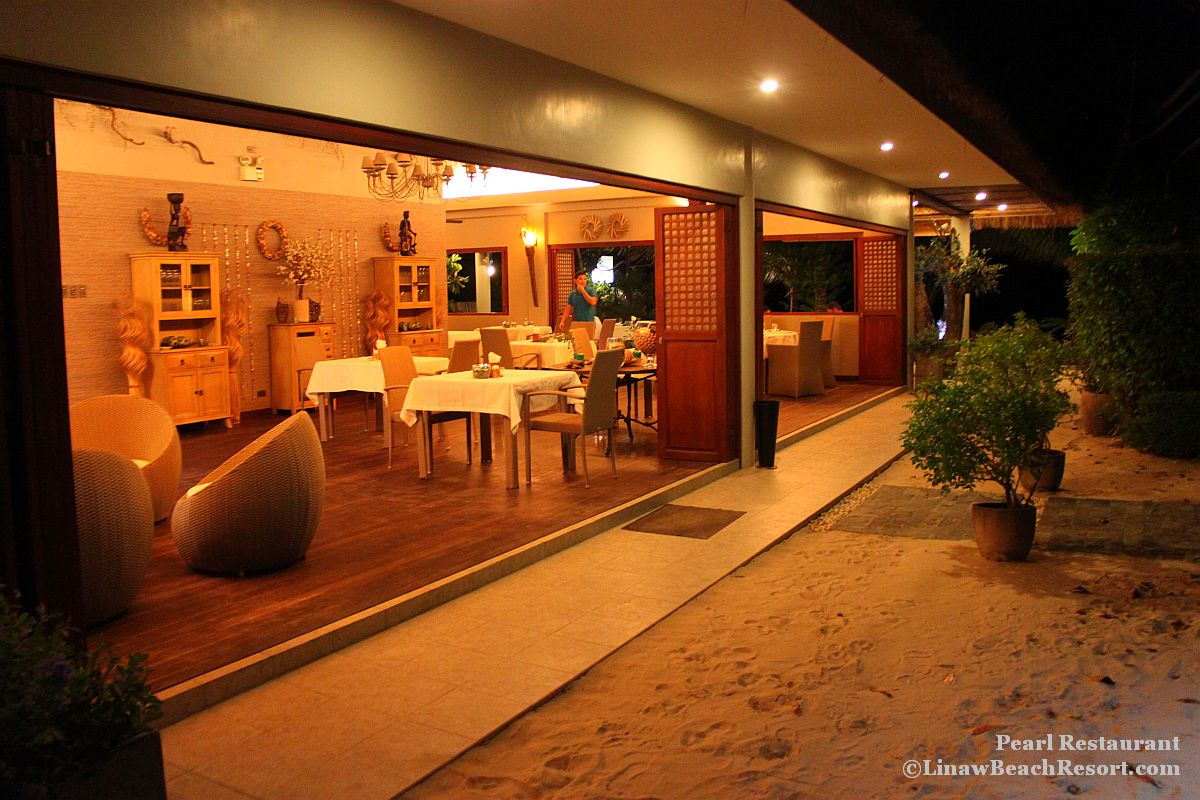 Pearl Restaurant Linaw Beach Resort 024
